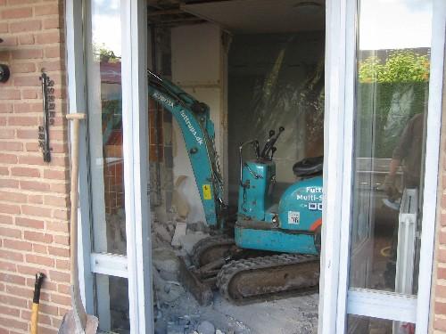 Betonhammer til beton gulv